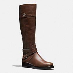 COACH Q6301 Elm Boot MAHOGANY