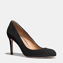 COACH Q6318 Rosey Heel BLACK