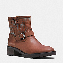 COACH Q6357 Gates Boot SADDLE