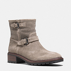 COACH Q6357 Gates Boot STONE