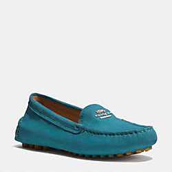COACH Q6359 Nancy Loafer TEAL