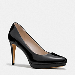 COACH Q6526 Giovanna Pump  BLACK