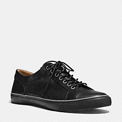 COACH Q6585 Perkins Sneaker BLACK/BLACK