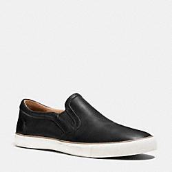 COACH Q6586 Powers Sneaker BLACK
