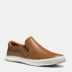 COACH Q6586 Powers Sneaker SADDLE BROWN