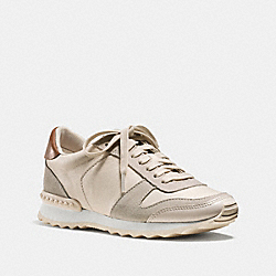 COACH MOONLIGHT SNEAKER - CHALK - Q6640