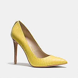 COACH Q6769 - HARLEE HEEL YELLOW