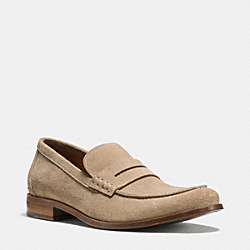 COACH Q6966 Gramercy Penny Loafer ANTELOPE