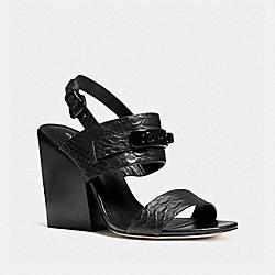 COACH Q6974 Dennis Heel BLACK/BLACK