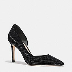 COACH Q7039 Tibby Heel BLACK