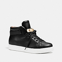 COACH Q7091 Richmond Sneaker BLACK