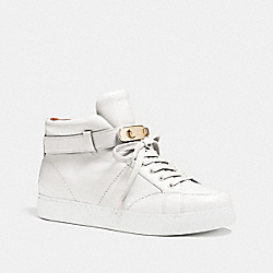 COACH Q7091 Richmond Sneaker WHITE