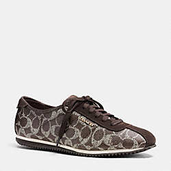 COACH Q7110 Ivory Sneaker E6J