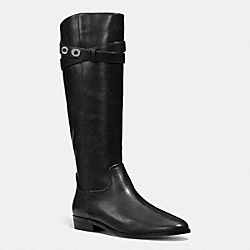COACH Q7180 Linette Boot BLACK