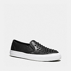 COACH Q7211 Chrissy Sneaker BLACK
