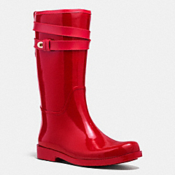 TRISHA RAINBOOT - q7722 - ROUGE RED/ROUGE RED
