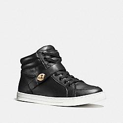 COACH Q8023 Pembroke Sneaker BLACK