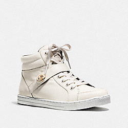 COACH Q8023 Pembroke Sneaker CHALK