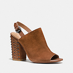 COACH Q8043 Drew Heel SADDLE/SADDLE