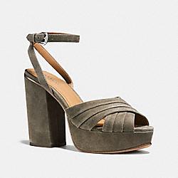 COACH Q8067 Nikeeta Heel FOG
