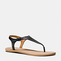 COACH Q8160 Cheyanne Sandal BLACK