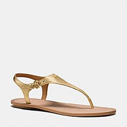 COACH Q8161 Cheyanne Sandal GOLD