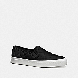 COACH Q8316 Chrissy Sneaker BLACK