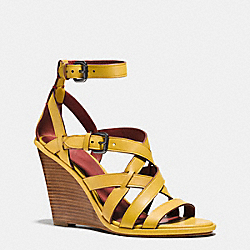 COACH Q8333 Dawn Wedge CANARY