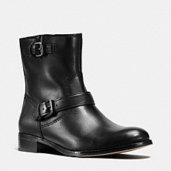 COACH Q8685 Alston Bootie BLACK