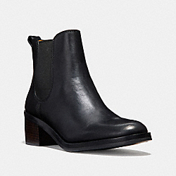 COACH Q8687 Clinton Bootie BLACK