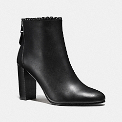 COACH Q8698 Terence Bootie BLACK