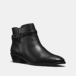 COACH COLEEN BOOTIE - BLACK - Q8700