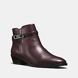 COACH Q8700 Coleen Bootie WARM OXBLOOD