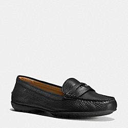 COACH Q8785 Coach Penny Loafer BLACK