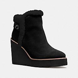 COACH Q8828 - KINGSTON BOOT BLACK/BLACK