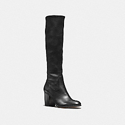 COACH Q8840 Bergen Boot BLACK/BLACK