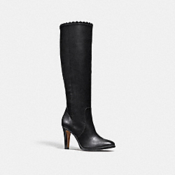 COACH Q8842 Jade Boot BLACK