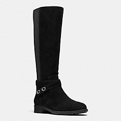 COACH Q8905 Essex Boot BLACK/BLACK