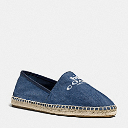 COACH Q9068 Rhoda Espadrille MEDIUM WASH
