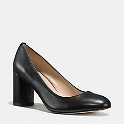 COACH Q9083 Georgina Pump BLACK