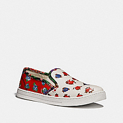 COACH Q9100 Parkside Slip On RED BLUE MULTI/RED