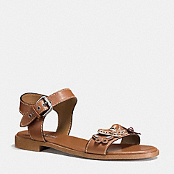 COACH Q9147 Abby Sandal SADDLE