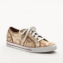 COACH Q998 Dee Sneaker KHAKI