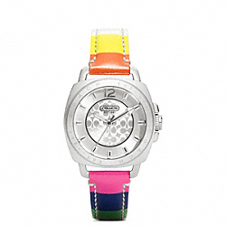 COACH W1049 - COACH BOYFRIEND MINI STRAP WATCH ONE-COLOR