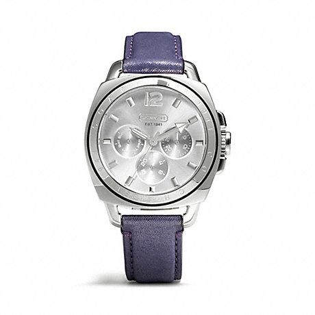COACH W1122 BOYFRIEND STRAP WATCH ONE-COLOR