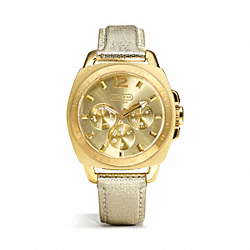 COACH W1123 Boyfriend Sparkle Strap Watch