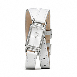 COACH W1201 - MADISON DOUBLE WRAP STRAP WATCH ONE-COLOR