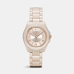COACH W1278 - TRISTEN CERAMIC BRACELET WATCH SAND