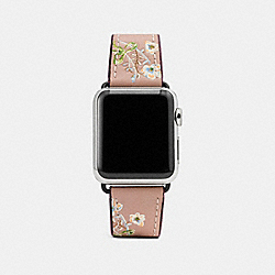 COACH W1297+MIR++WMN - APPLE WATCH® STRAP WITH PRINTS MELON MULTI