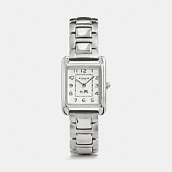 COACH W1317 Page Stainless Steel Bracelet Watch STERLING SILVER